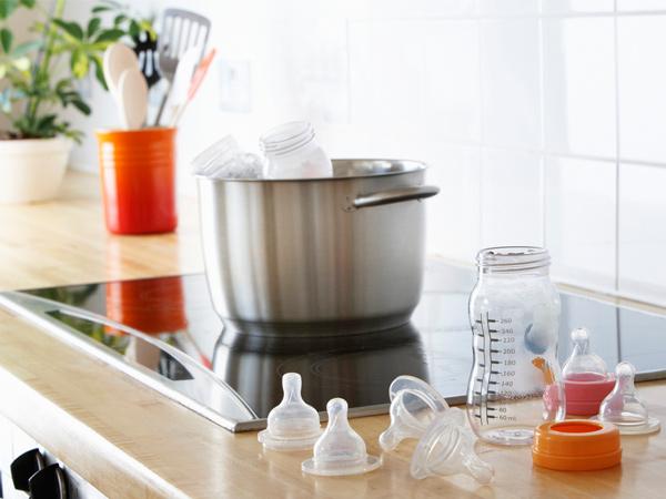 Стерилизация детской посуды