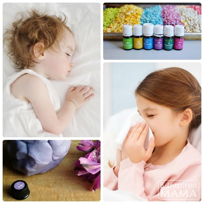 Эфирные масла при простуде у детей