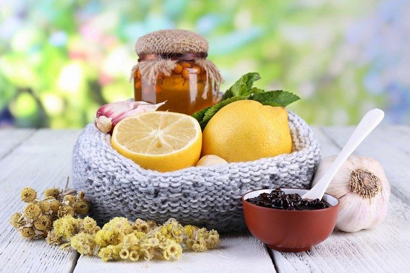 мед и лимон и чеснок