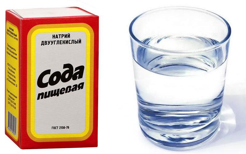 сода и вода