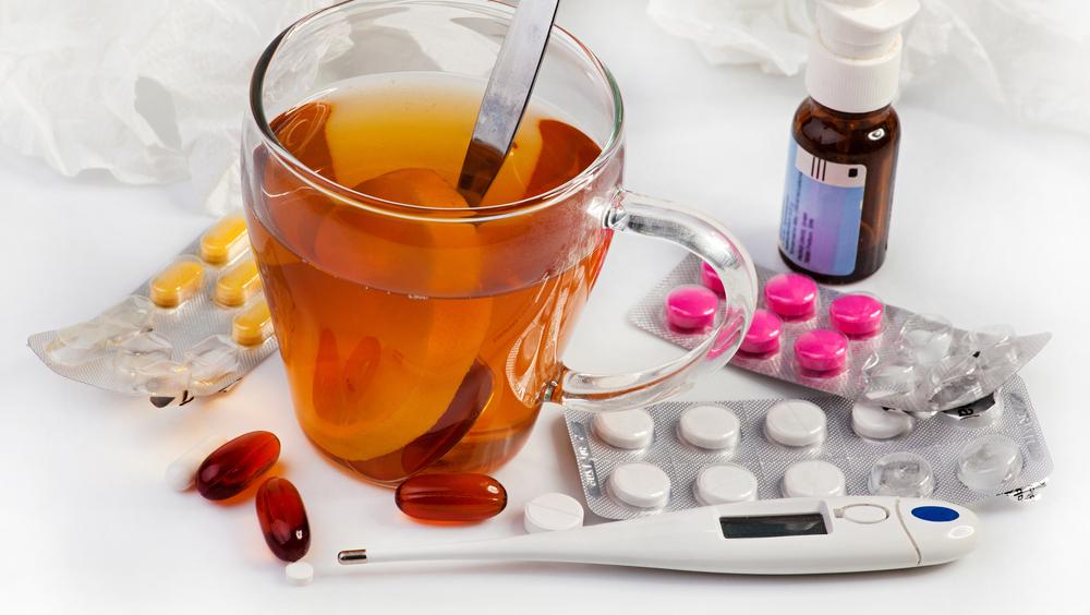 чай и таблетки