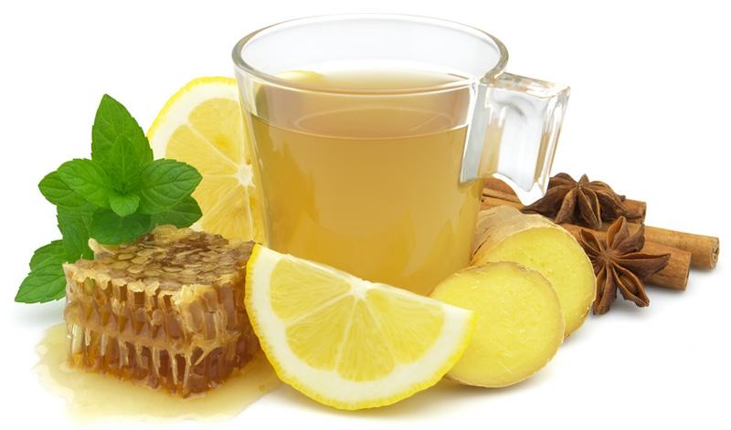 чай с лимоном имбирем и медом