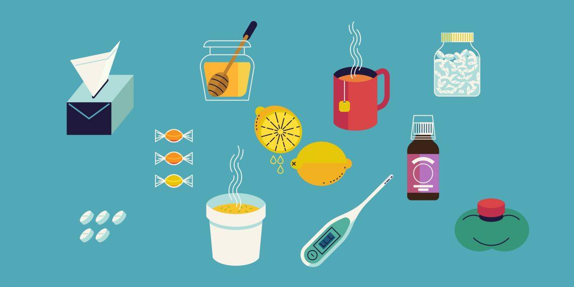 помощь в лечении простуды