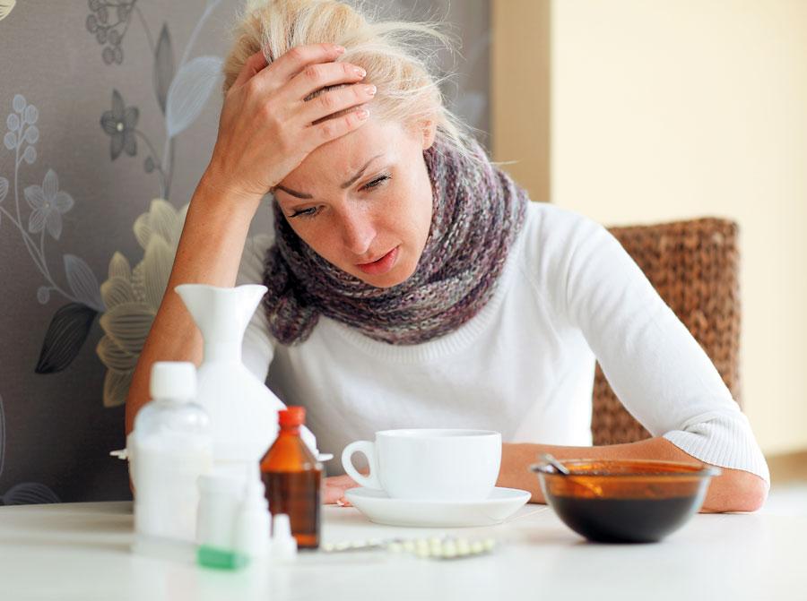 женщина и лекарства