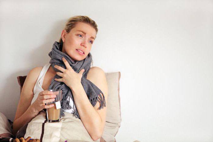 беременная болеет простудой