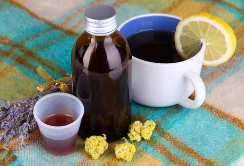 чай травы и сироп