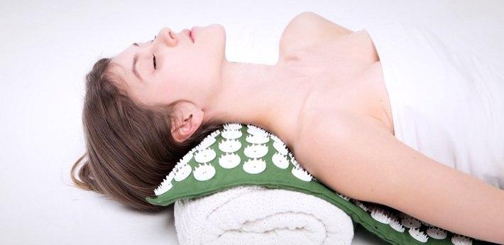 женщина и массаж