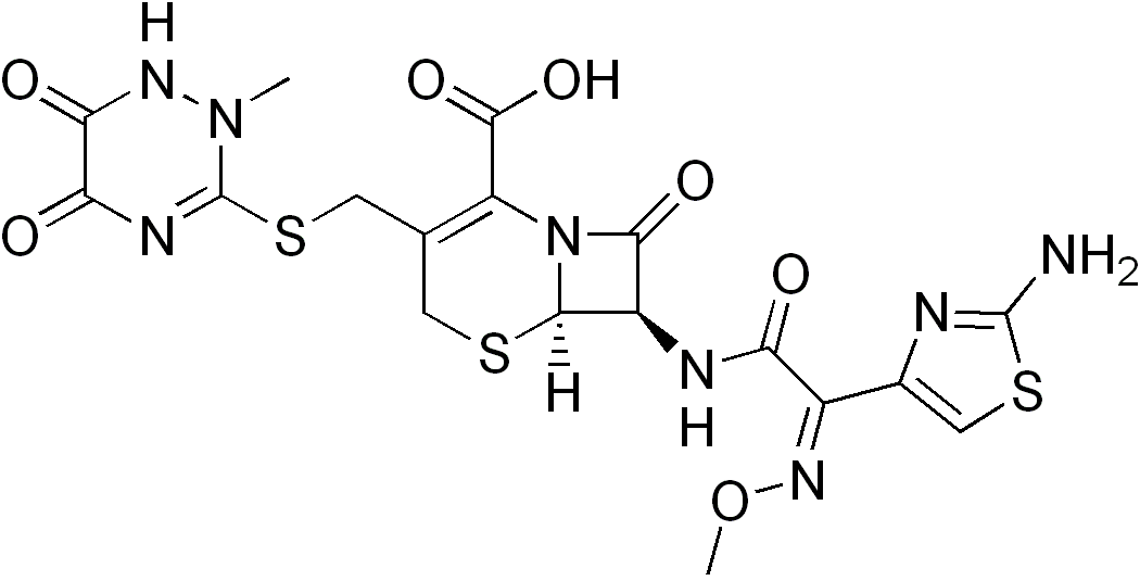 формула цефтриаксона