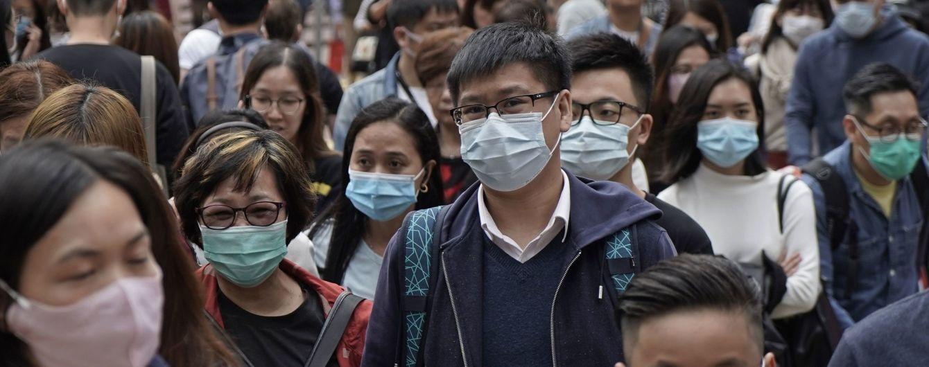 китайцы в масках