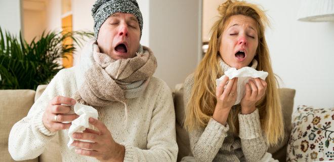 простуда у мужчины и женщины